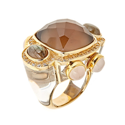 Sphinx Ring - 18K Gold Plated