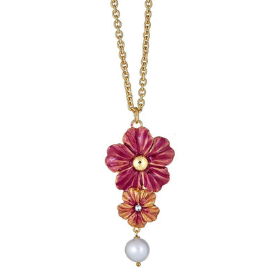 Poppy Pearl Necklace