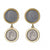 Lucia Duo Coin Earring