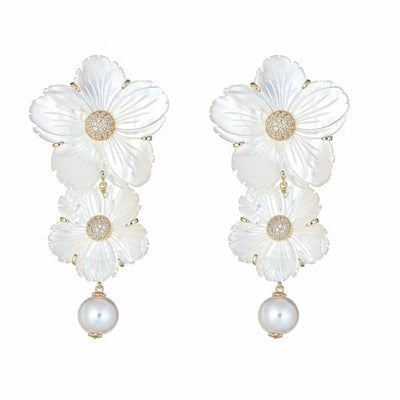 Linked Posy Earring