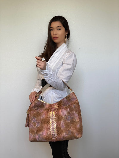 Gianna Hobo Bag - RoseGold/Rosa