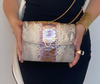 Sienna Crossbody  Natural Gold Purple
