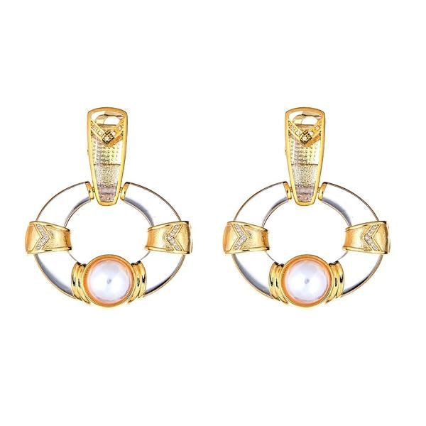 Rockefeller Clip On Earring