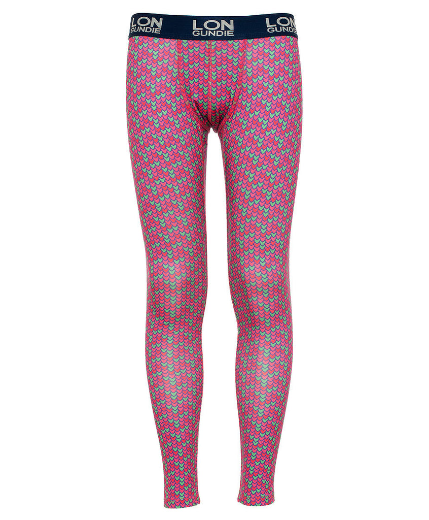 Kid's Thermal Bottoms - Heart Purple (1J601140)