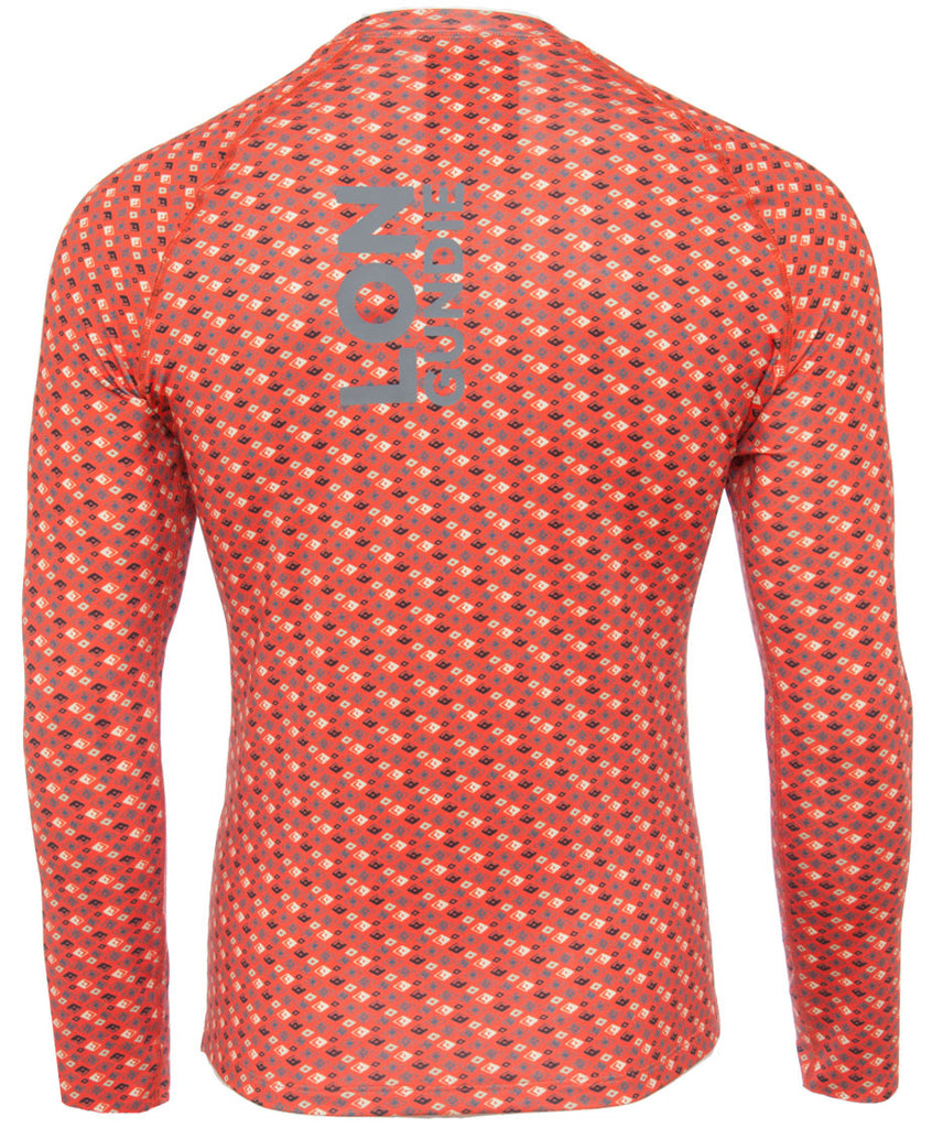 Men's Crew Neck  - Solitaire Red