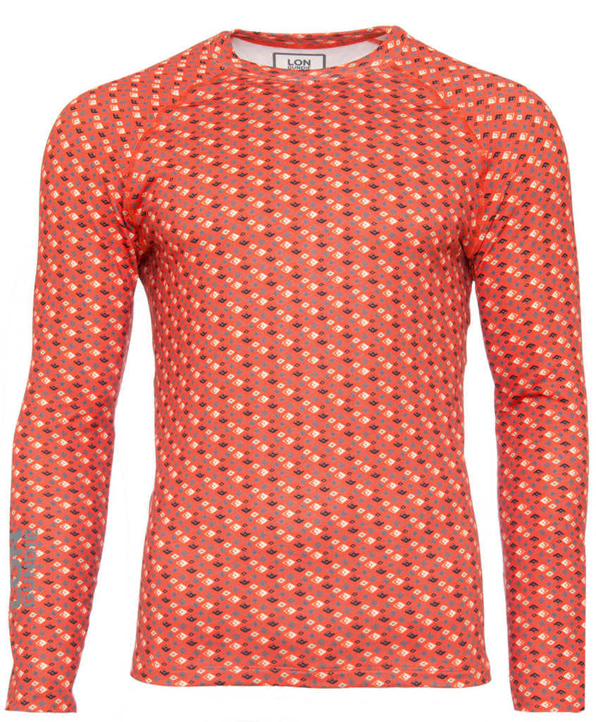 Men's Crew Neck  - Solitaire Red (1M101117)