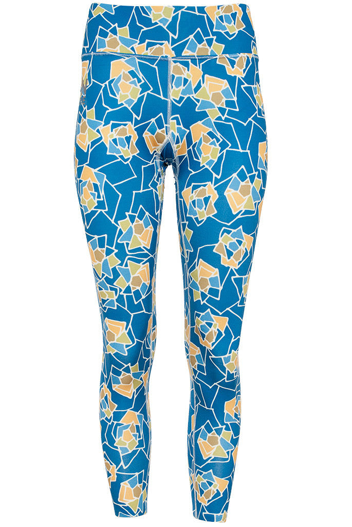 Women's Thermal Leggings - Rose Azure (1W601153)