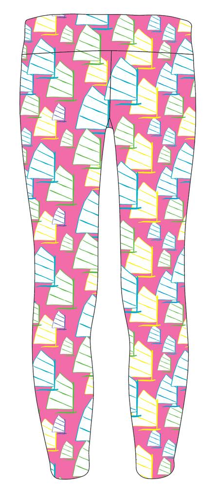 Jr's Girl Legging - Opti Pink