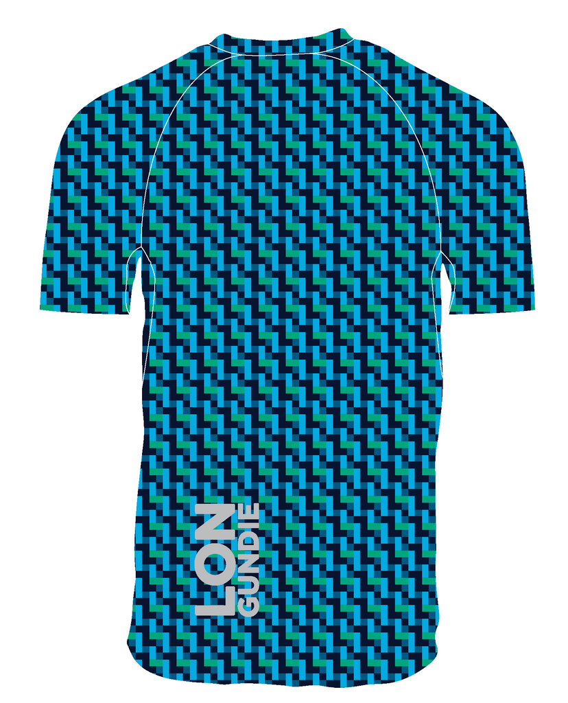 M's Loose Crew SS - Shark Bluegreen