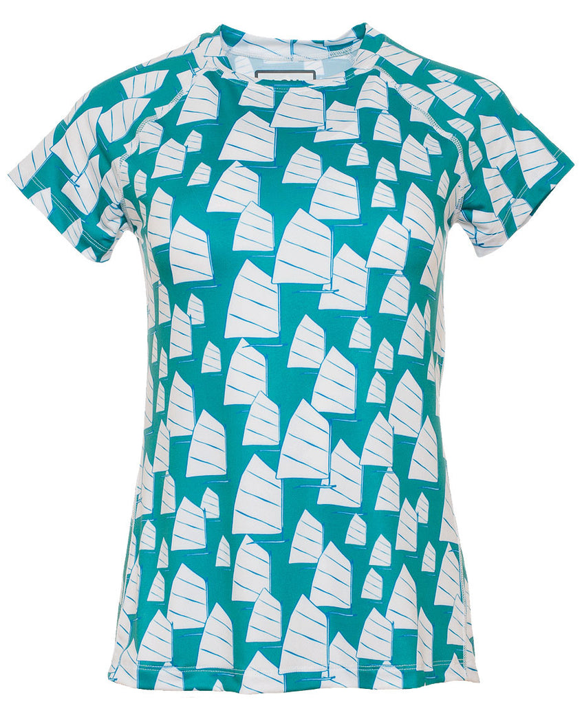 Women's Relaxed Crew SS - Opti Jade (2W102136)
