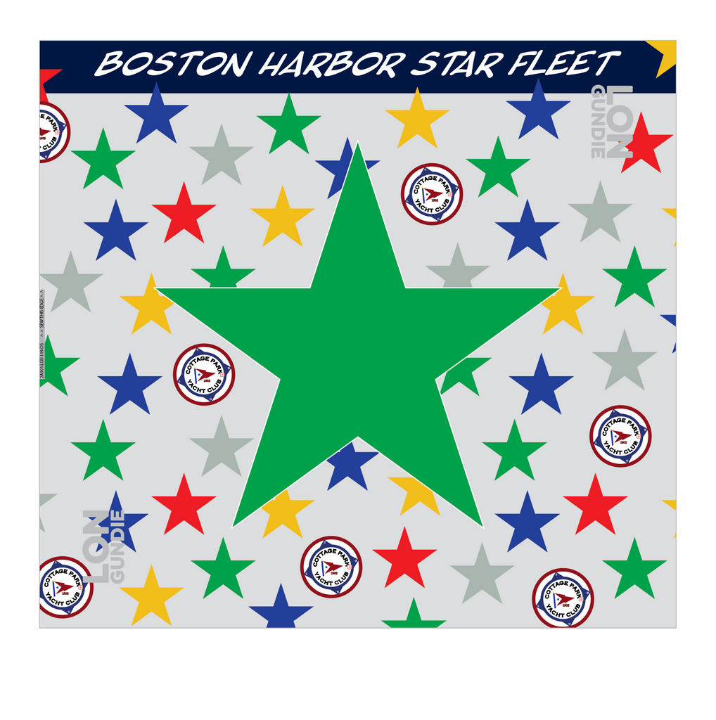 UNISEX NECK GAITER ACCESSORY GREEN | BOSTON HARBOR STAR FLEET