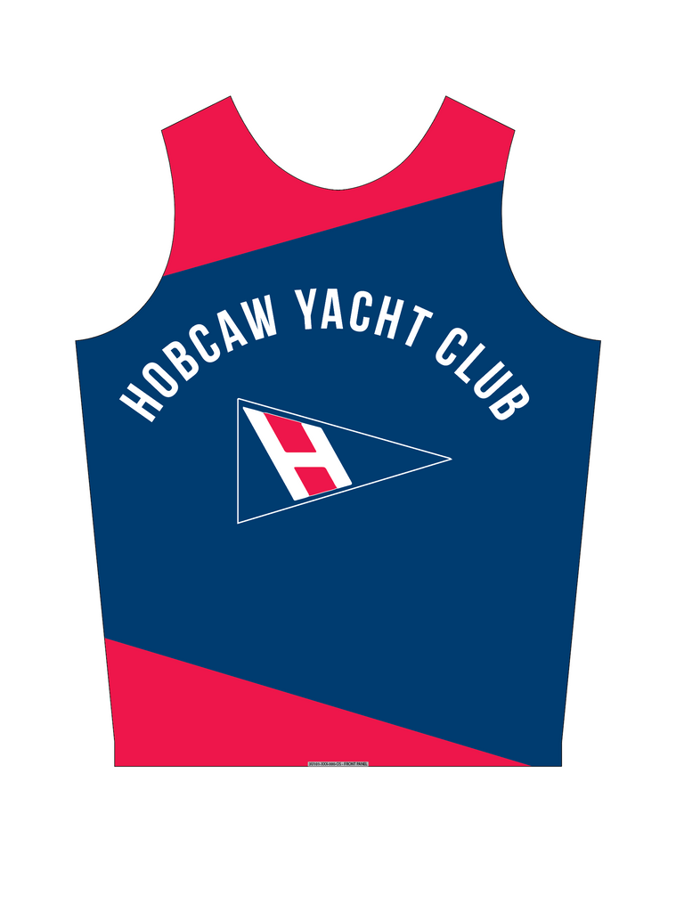 UNISEX PINNIE TOP SLEEVELESS BLUE | HOBCAW YC