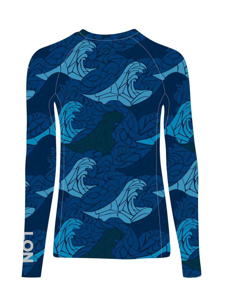 Jr's Crew Neck Rash Guard - MDP Midnight