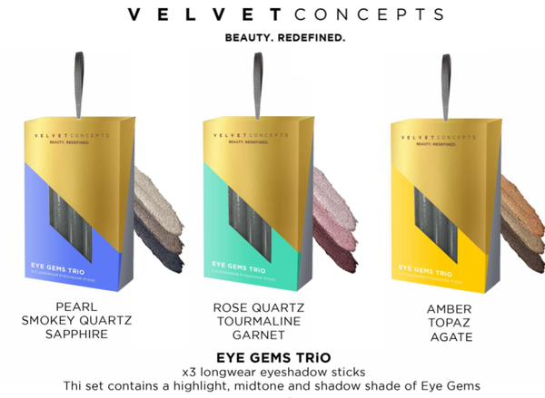 Velvet Concepts - Eye Gems Trio