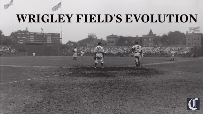 Watch: The Evolution of Wrigley Field, Home of The Chicago Cubs