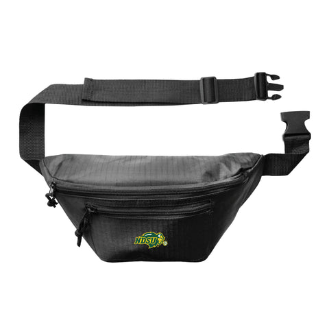 North Dakota State Bison 3Zip Hip Pack - Black