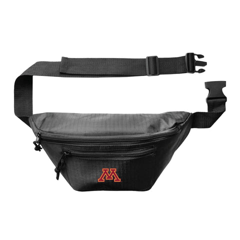 Minnesota Golden Gophers 3Zip Hip Pack - Black