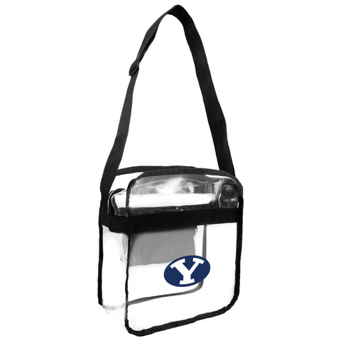 BYU Cougars Clear Carryall Crossbody