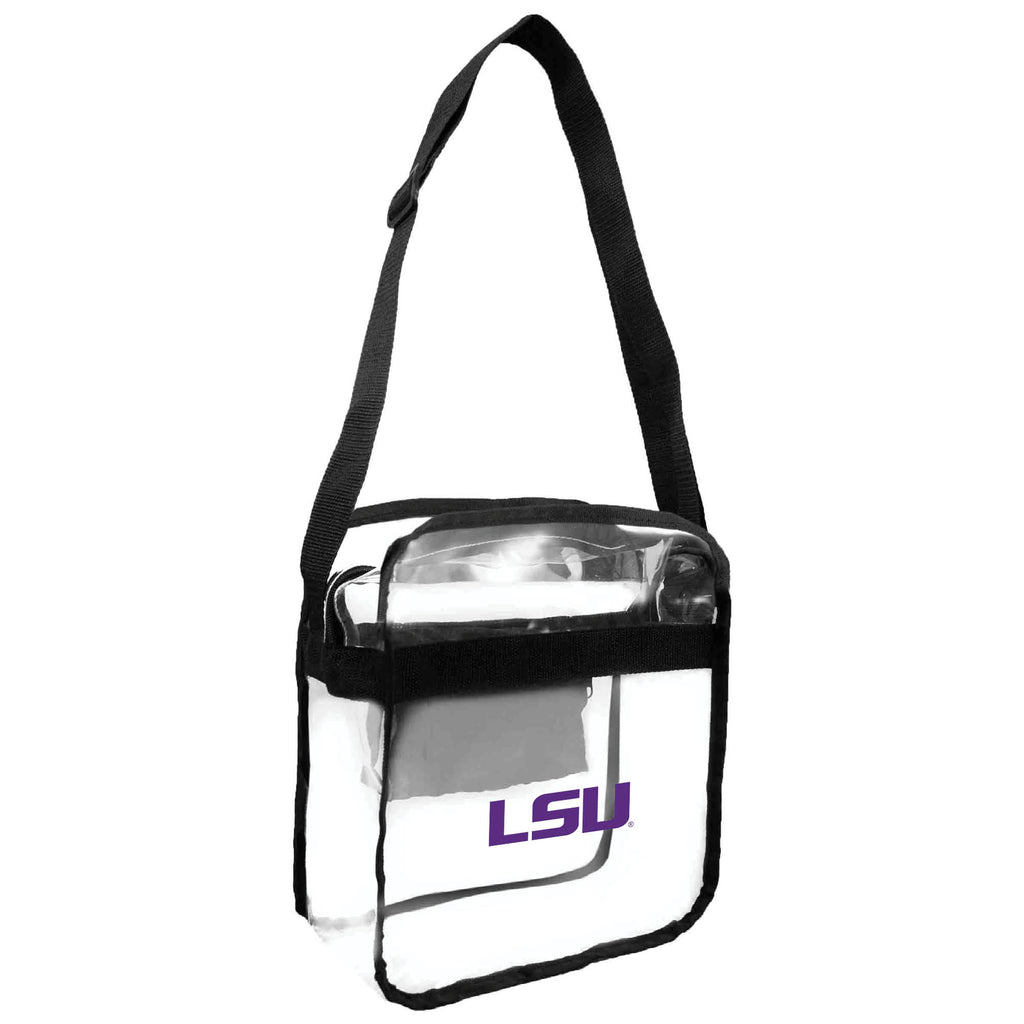 LSU Tigers Clear Carryall Crossbody