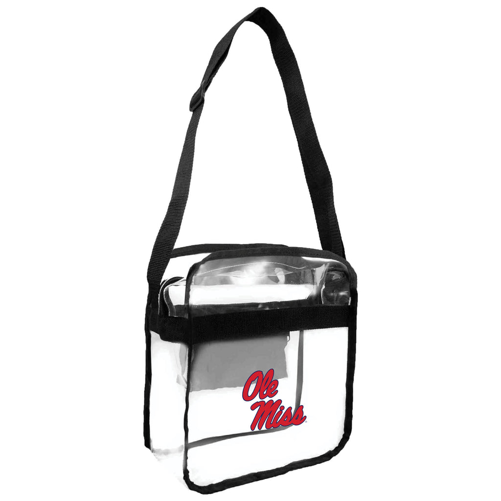 Ole Miss Rebels Clear Carryall Crossbody