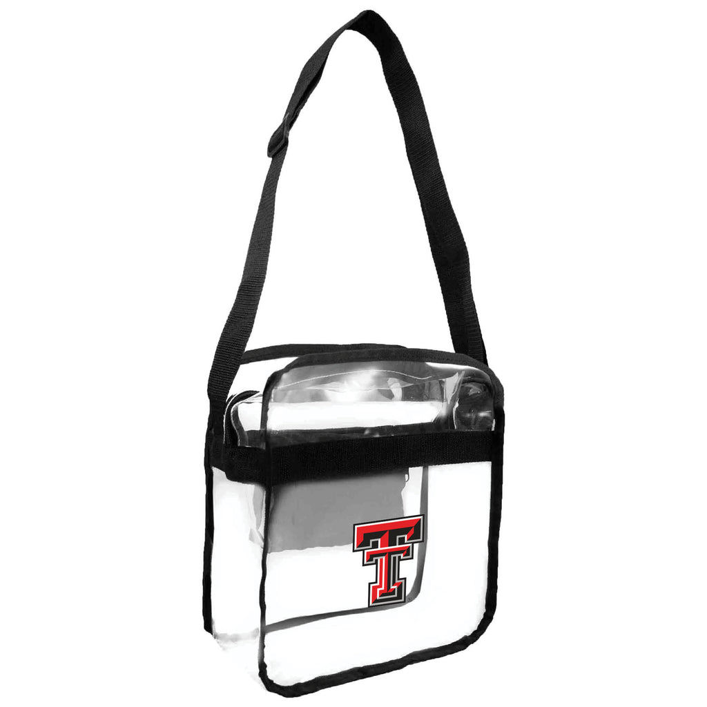 Texas Tech Red Raiders Clear Carryall Crossbody