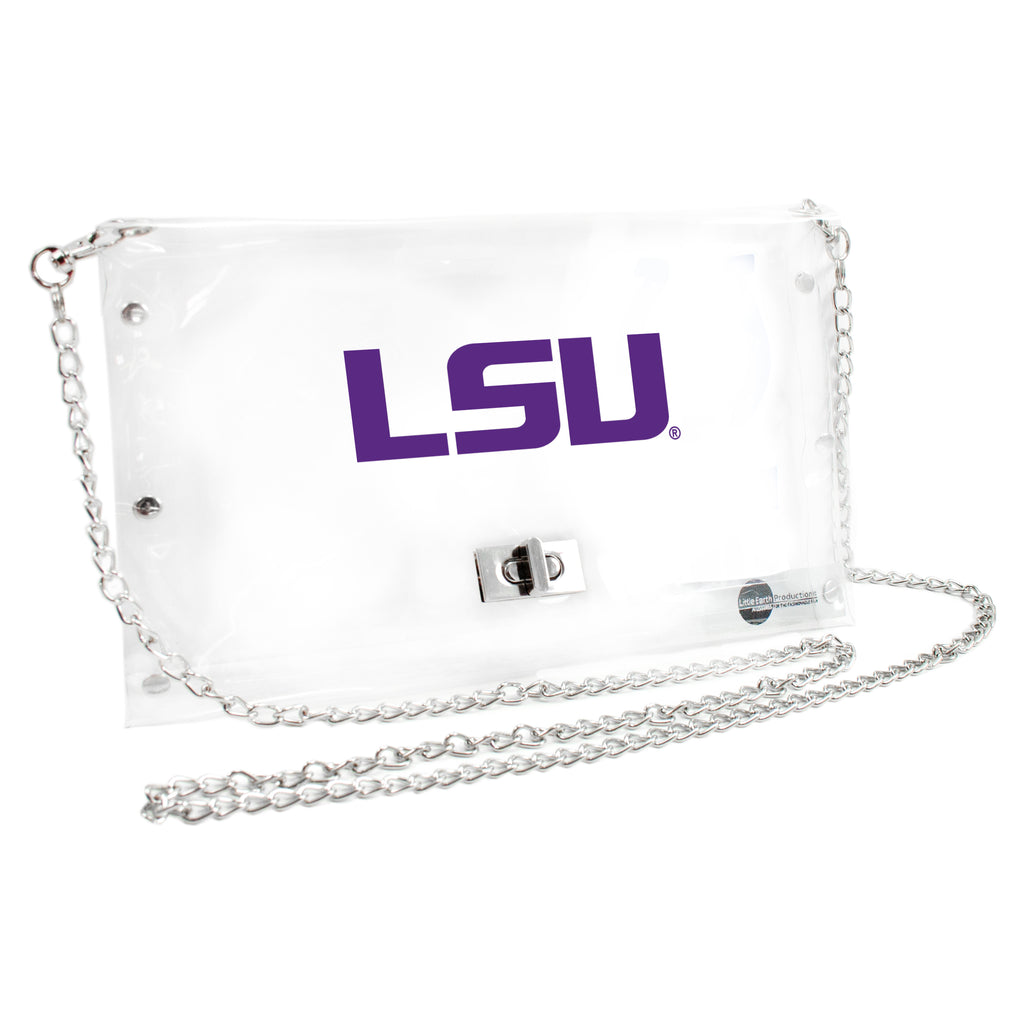 LSU Tigers Clear Envelope Purse