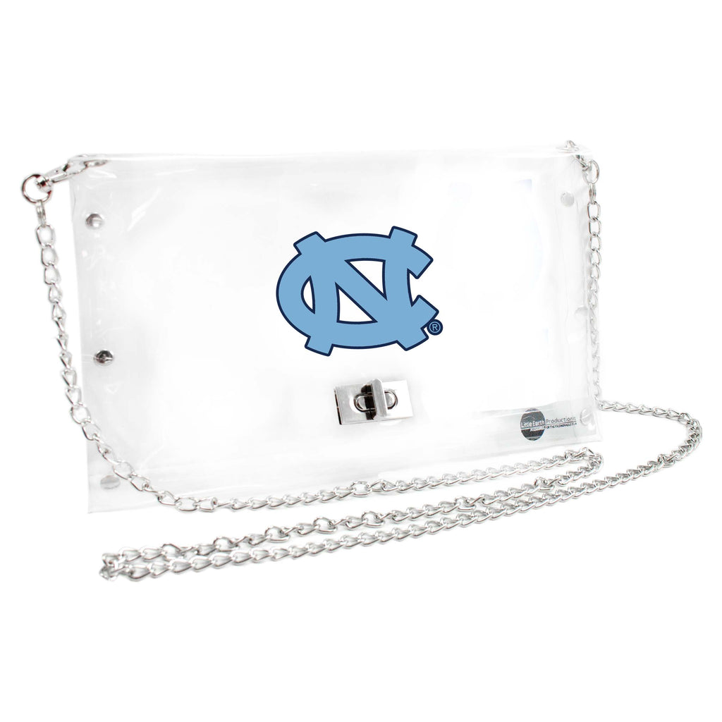 North Carolina Tar Heels Clear Envelope Purse