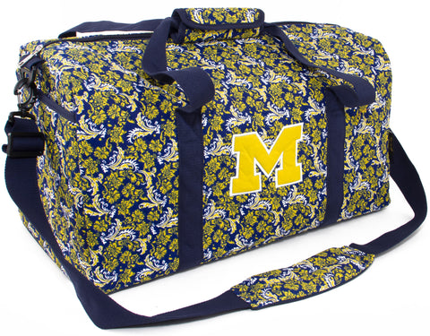 Michigan Bloom Large Duffle