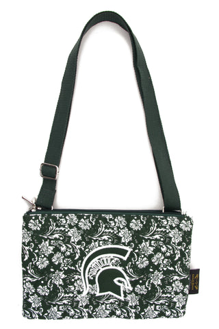 Michigan St Bloom CB Purse