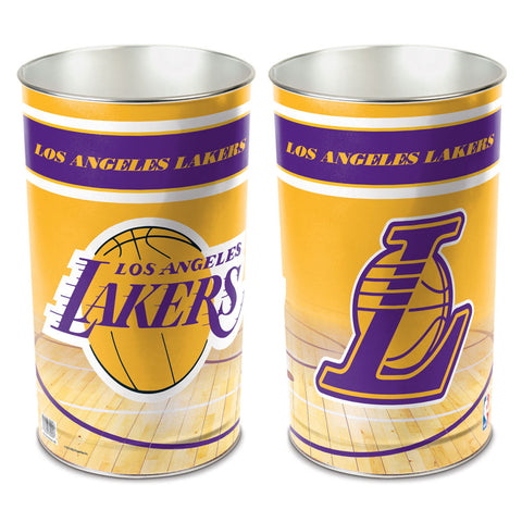 "Los Angeles Lakers 15"" Waste Basket"