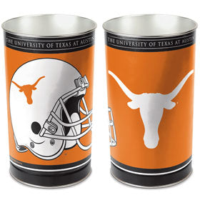 "Texas Longhorns 15"" Waste Basket"