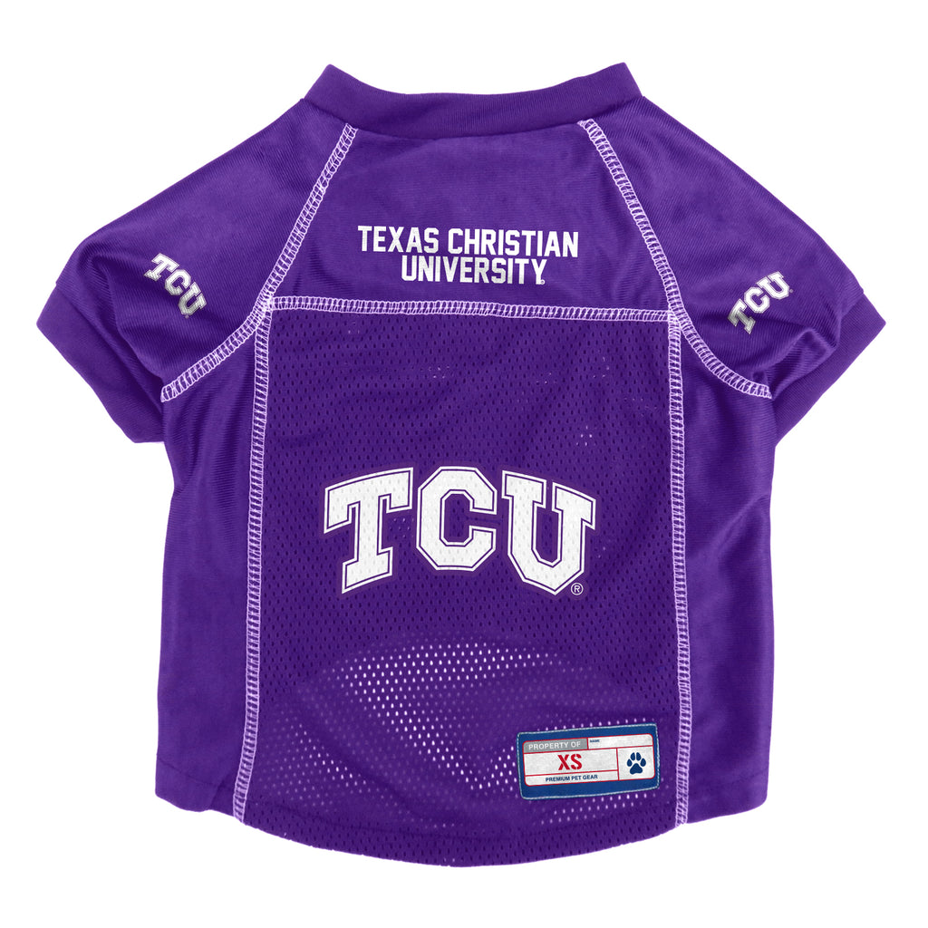 TCU Horned Frogs Pet Jersey