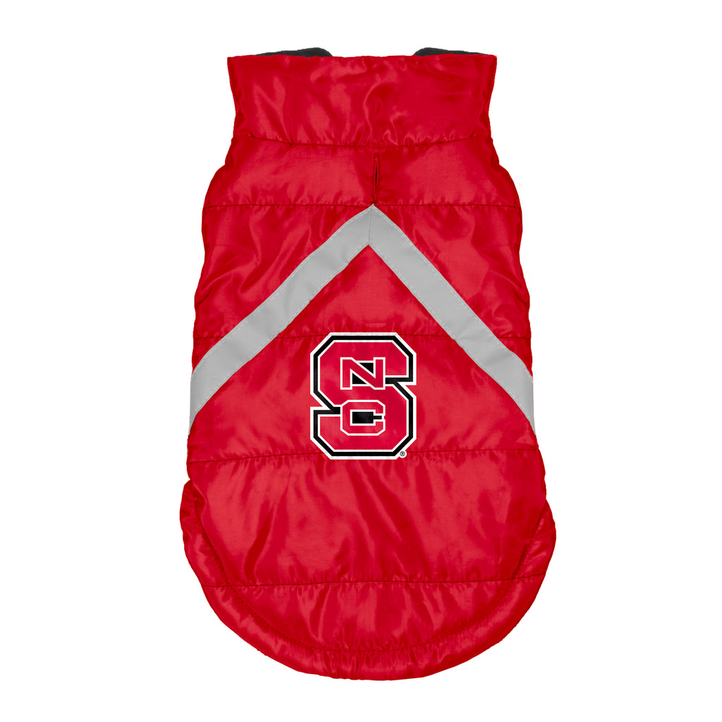 North Carolina State Wolfpack Pet Puffer Vest