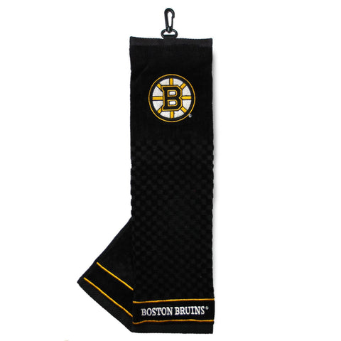 Boston Bruins Embroidered Golf Towel