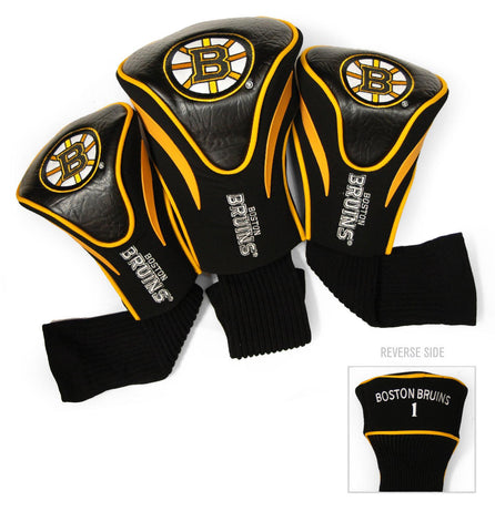 Boston Bruins 3 Pack Contour Head Covers