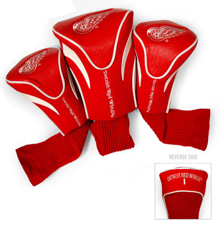 Detroit Red Wings 3 Pack Contour Head Covers