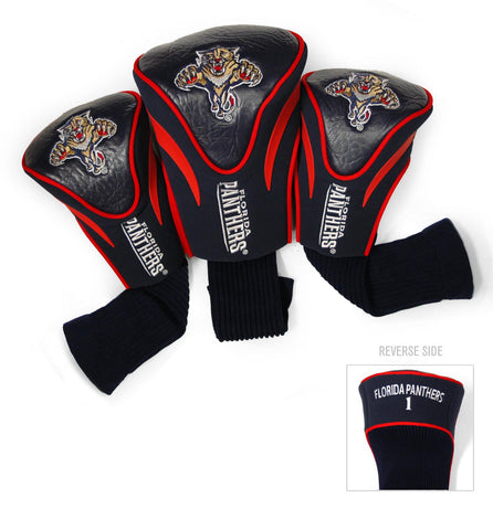 Florida Panthers 3 Pack Contour Head Covers