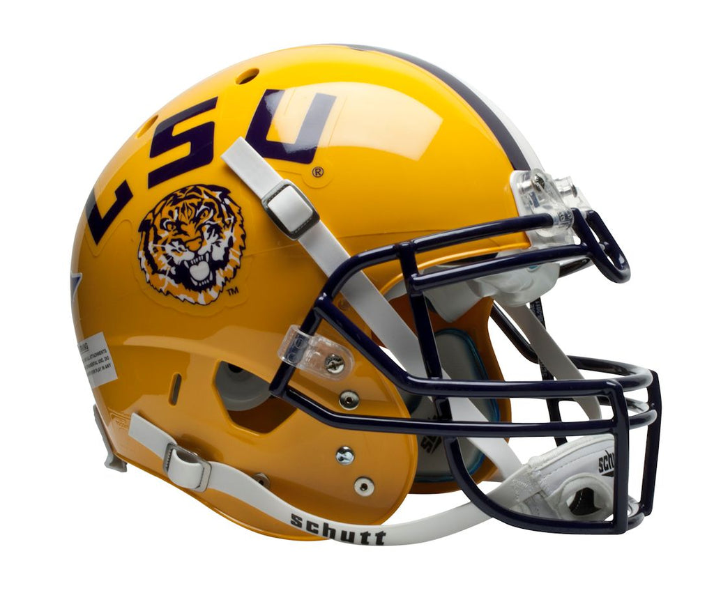 LSU Tigers Schutt XP Authentic Full Size Helmet