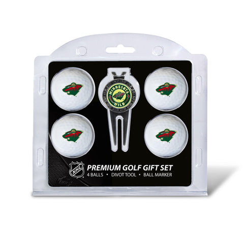 Minnesota Wild 4 Golf Ball And Divot Tool Set