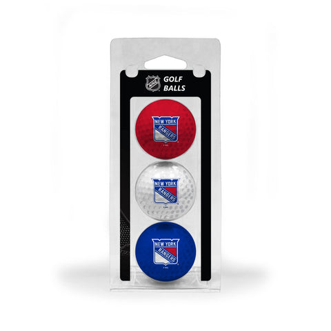 New York Rangers 3 Golf Ball Pack