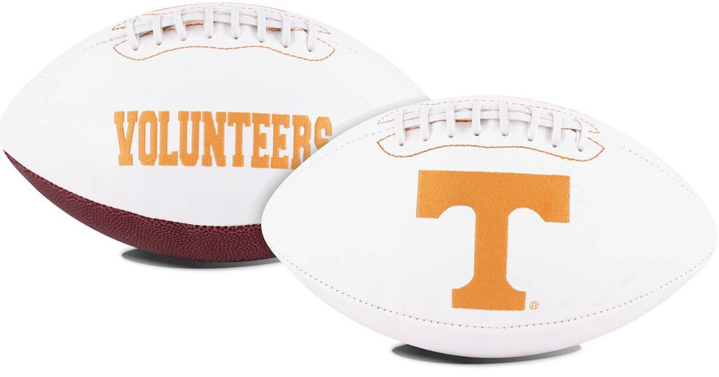 Tennessee Volunteers Full Size Embroidered Signature Series Football