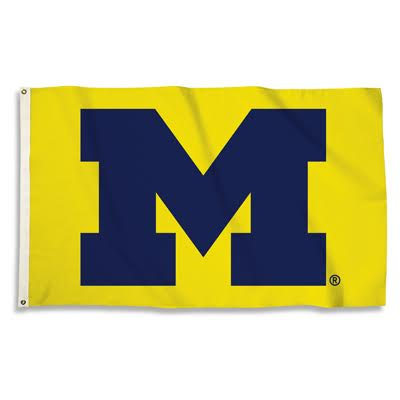 Michigan Wolverines Flag 3x5 BSI