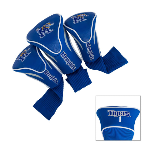 Memphis Tigers 3 Pack Contour Head Covers