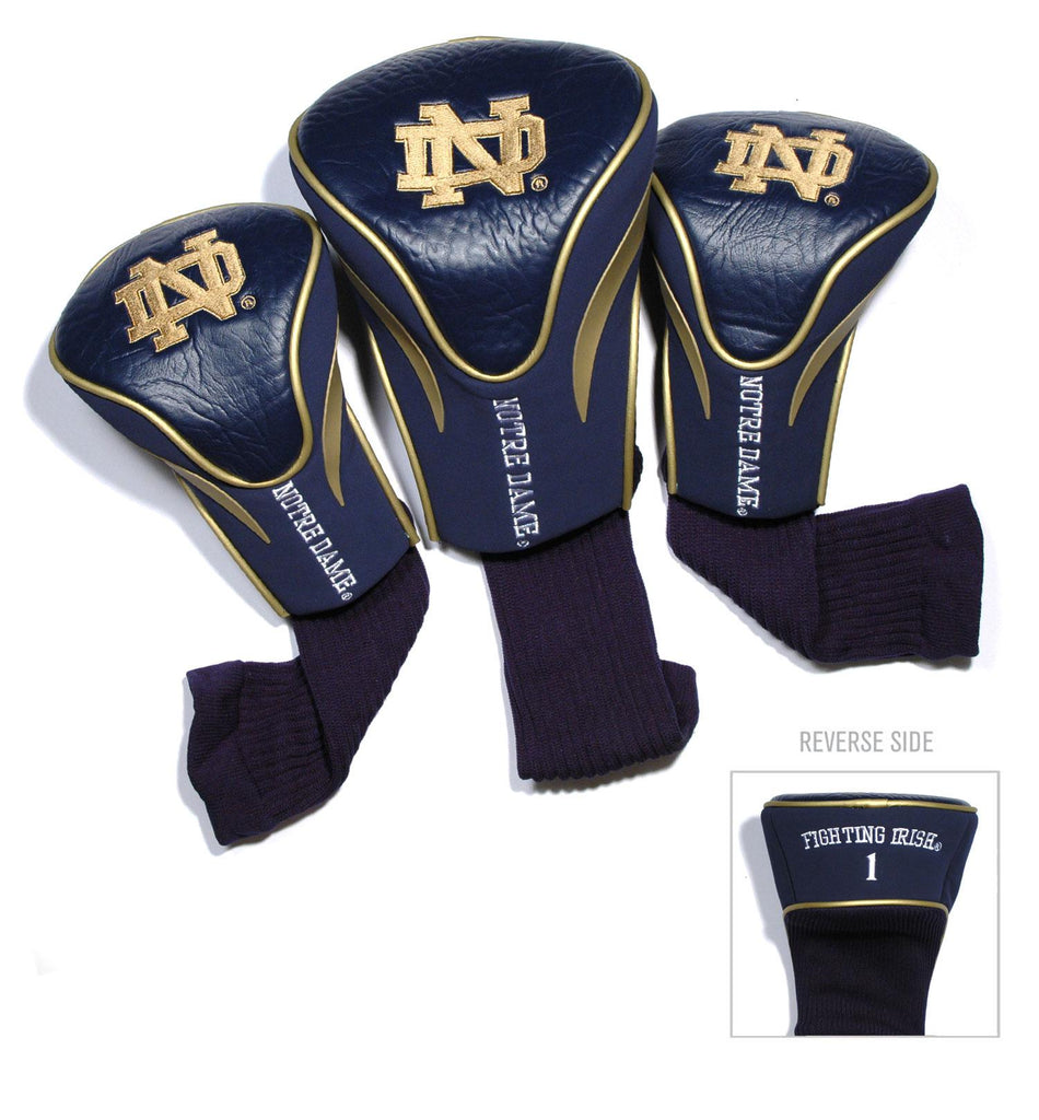 Notre Dame Fighting Irish 3 Pack Contour Head Covers