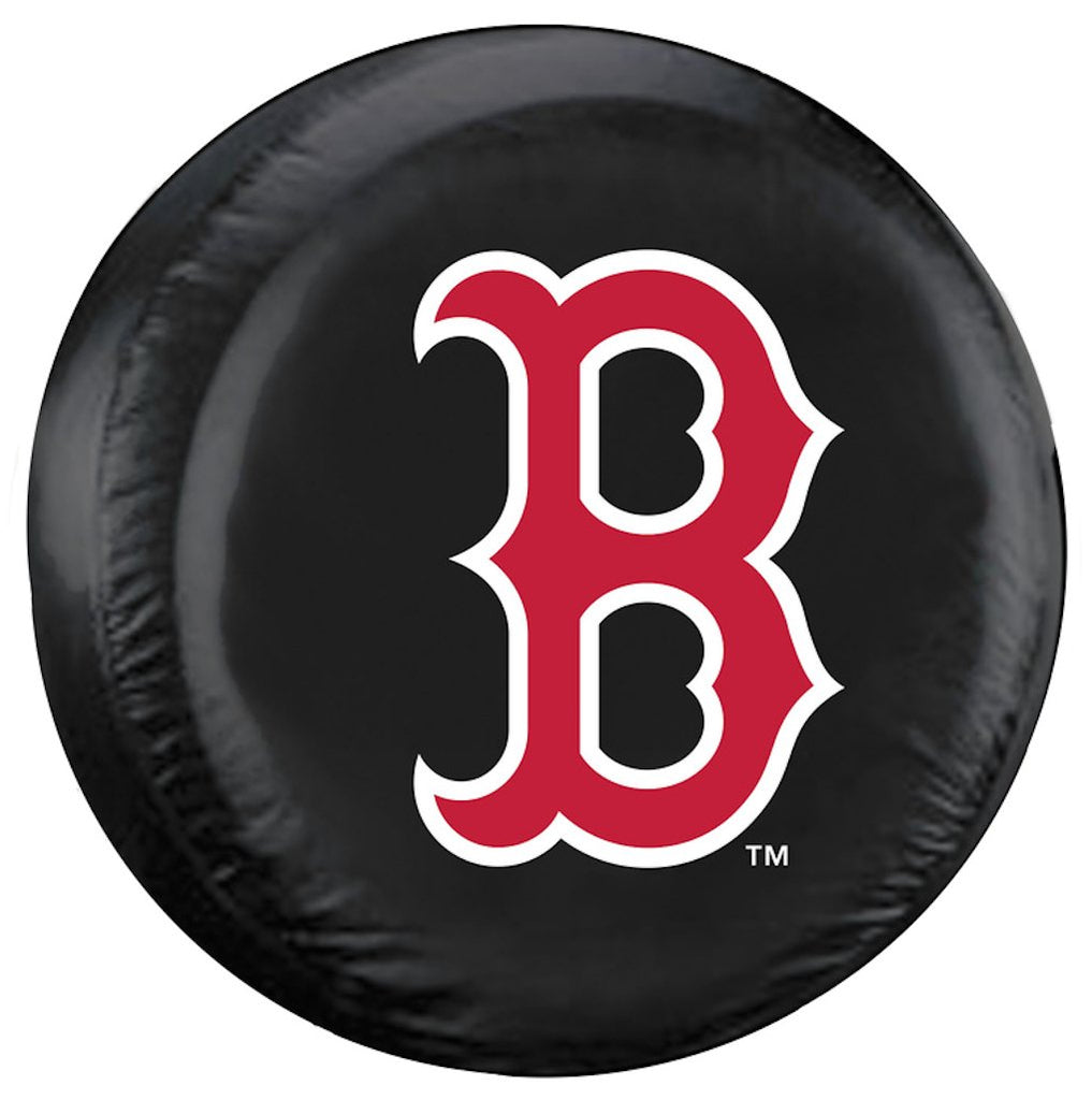 Boston Red Sox Black Tire Cover - B Logo, Large Size