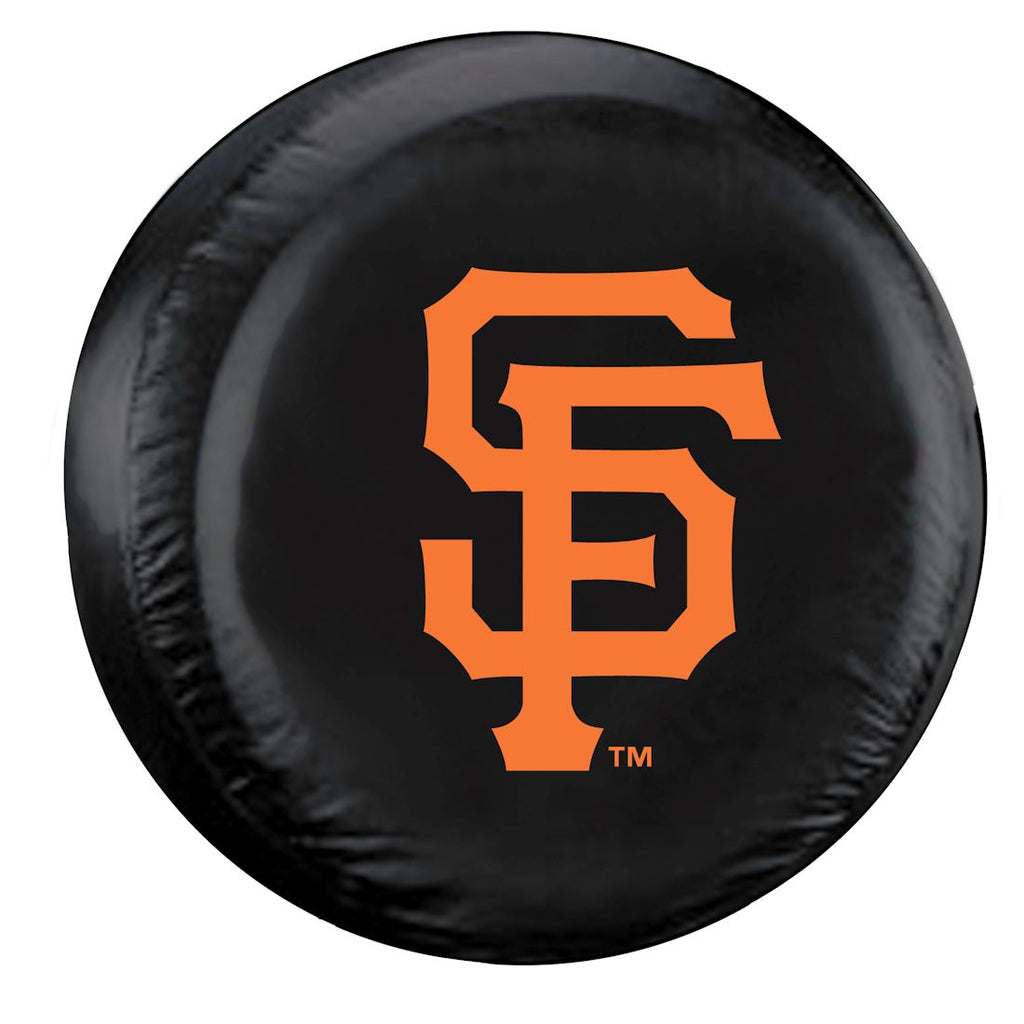 San Francisco Giants Black Tire Cover - Standard Size