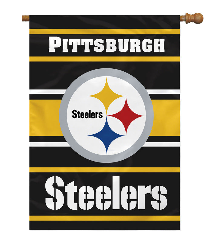 "Pittsburgh Steelers 24""x40"" Banner"