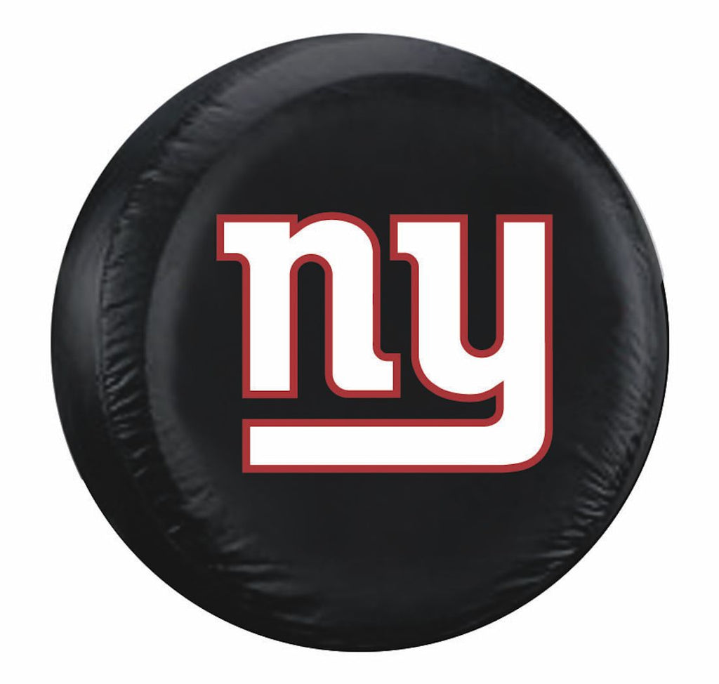 New York Giants Black Tire Cover - Size Large