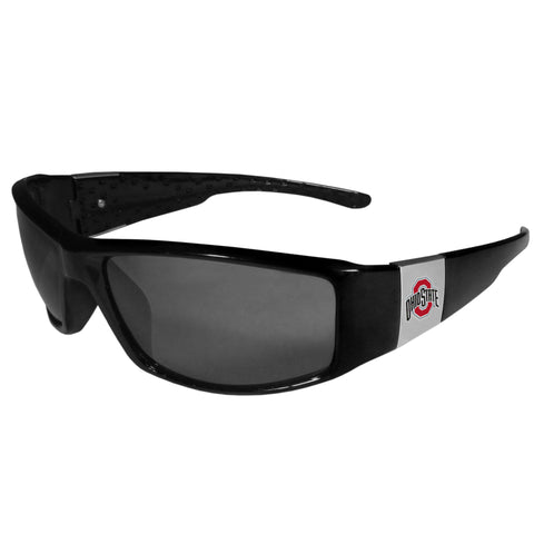 Ohio St. Buckeyes Wrap Sunglasses