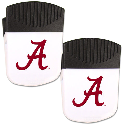 Alabama Crimson Tide   Chip Clip Magnet with Bottle Opener 2 pack